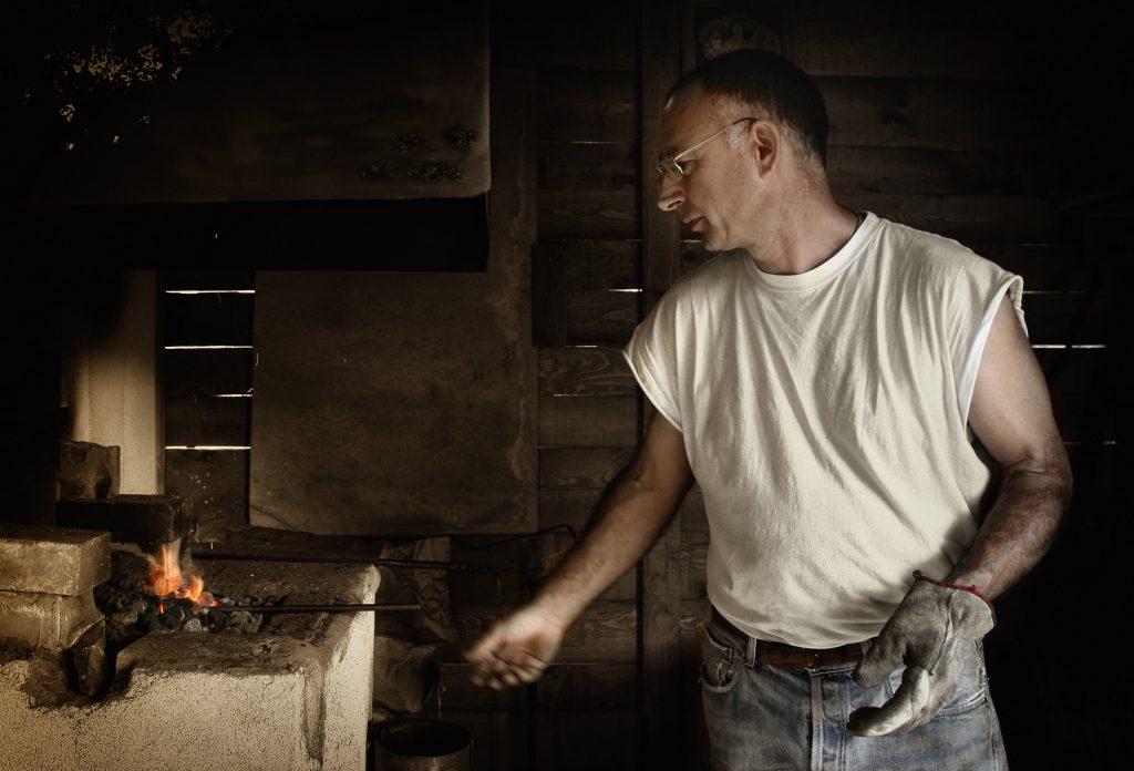 wroth iron forging